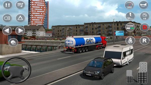 欧洲油轮运输模拟器