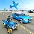 流行的警车运输
