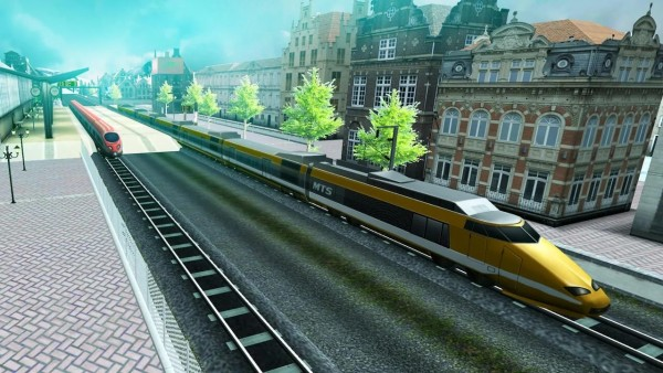 欧洲火车驾驶